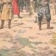 DÉTAILS 05   Exécution d'espions Japonais par les soldats Russes - Port-Arthur - Chine - 1904