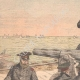DETAILS 01   The defense of Port Arthur - Russian artillery - China - 1904