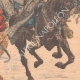 DETAILS 04 | Cossacks against Koungouses in Manchuria - China - 1904