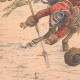 DETAILS 05 | Cossacks against Koungouses in Manchuria - China - 1904