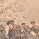 DÉTAILS 02 | Transport des blessés Russes sur des skis - Chine - 1904