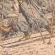 DÉTAILS 04 | Transport des blessés Russes sur des skis - Chine - 1904