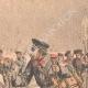 DÉTAILS 05 | Transport des blessés Russes sur des skis - Chine - 1904