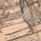 DÉTAILS 06 | Transport des blessés Russes sur des skis - Chine - 1904