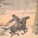 DÉTAILS 03 | Des Cosaques attaqués par une meute de loups - Mandchourie - Chine - 1904