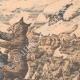 DÉTAILS 04 | Des Cosaques attaqués par une meute de loups - Mandchourie - Chine - 1904