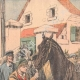 DETAILS 01   The requisition of horses at the beginning of a war - 1904