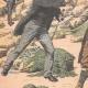 DETAILS 02 | Arrest of an English spy in Belle-Île - Morbihan - France - 1904