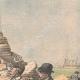 DETAILS 03 | Arrest of an English spy in Belle-Île - Morbihan - France - 1904