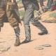 DETAILS 06 | Arrest of an English spy in Belle-Île - Morbihan - France - 1904