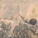 DETAILS 01   Russian estafettes forcing passage - Port-Arthur - China - 1904