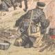 DETAILS 06   Russian estafettes forcing passage - Port-Arthur - China - 1904