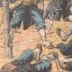 DÉTAILS 03   Les Japonais attaquent un retranchement Russe - Mukden - Mandchourie - Chine - 1904
