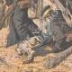 DÉTAILS 06   Les Japonais attaquent un retranchement Russe - Mukden - Mandchourie - Chine - 1904