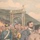 DETAILS 01 | Wilhelm II congratulates the french Gordon Bennett Cup's winner - Germany - 1904
