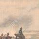 DÉTAILS 02 | Masséna blessé donnant ses ordres depuis une calèche lors de la bataille de Wagram - Autriche - 1809