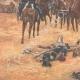 DÉTAILS 03 | Masséna blessé donnant ses ordres depuis une calèche lors de la bataille de Wagram - Autriche - 1809