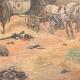 DÉTAILS 04 | Masséna blessé donnant ses ordres depuis une calèche lors de la bataille de Wagram - Autriche - 1809