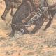 DETAILS 03   Russian artillery in the rain in Niou-chuang - Manchuria - China