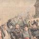 DÉTAILS 02   Voyous et agents de police sur la Place de la Bastille - Paris - 1904