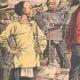 DÉTAILS 02 | Enrôlement des travailleurs chinois dans les mines d'or - Afrique  du Sud - 1904