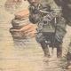 DÉTAILS 05   Chiens de guerre japonais - Guerre russo-japonaise - 1904