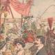 DÉTAILS 03 | La reine du marché de Turin et les reines de la Mi-Carême de Paris - Turin - 1904