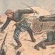 DETAILS 03   Defense of a Port Arthur bastion - Fort Zaredoutni - China - 1904