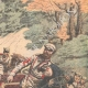 DETAILS 03   Battle of Turentchen - Russo-Japanese War - Manchuria - Asia - 1904