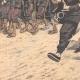 DÉTAILS 03   L'armée chinoise à la frontière de la Mandchourie - Chine - 1904