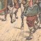 DÉTAILS 06   L'armée chinoise à la frontière de la Mandchourie - Chine - 1904