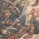 DÉTAILS 05 | Les Russes attaquent les Japonais à Namchinza - Mandchourie - Chine - 1904
