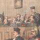 DÉTAILS 05   Affaire Dautriche - Conseil de guerre - Le Cherche-Midi - Paris - 1904