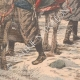 DÉTAILS 05 | Les Koungouses livrent une infirmière russe aux troupes japonaises - Chine - 1904