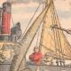 DÉTAILS 01   Bagarre entre pêcheurs français et anglais - Manche - 1904