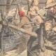 DÉTAILS 02   Bagarre entre pêcheurs français et anglais - Manche - 1904