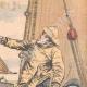 DÉTAILS 03   Bagarre entre pêcheurs français et anglais - Manche - 1904
