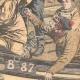 DÉTAILS 04   Bagarre entre pêcheurs français et anglais - Manche - 1904