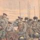 DÉTAILS 03 | Le général Kouropatkine parcourant les lignes russes en automobile  - Mandchourie - Chine - 1904