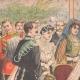DÉTAILS 01 | Baptême du Prince de Piémont au Quirinal - Rome - Italie - 1904
