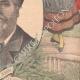 DETAILS 04   Portrait of Frédéric Mistral - Nobel Prize in Literature  1904