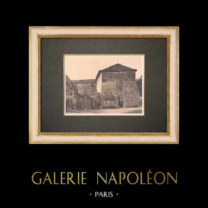 Antique Prints & Drawings | Grande bastide at Lauris - Luberon - Vaucluse (France) | Phototypie | 1928