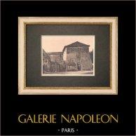 La Grande bastide de Lauris - Luberon - Vaucluse (France) | Phototypie originale. Anonyme. 1928