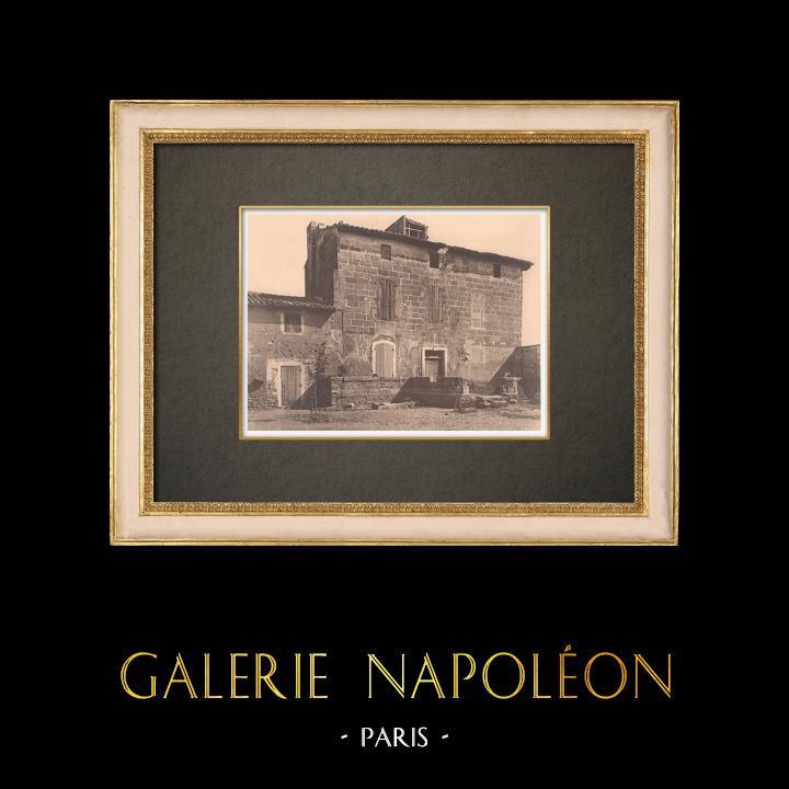 Antique Prints & Drawings | A mas in Saint-Étienne-du-Grès - Provence (France) | Phototypie | 1928