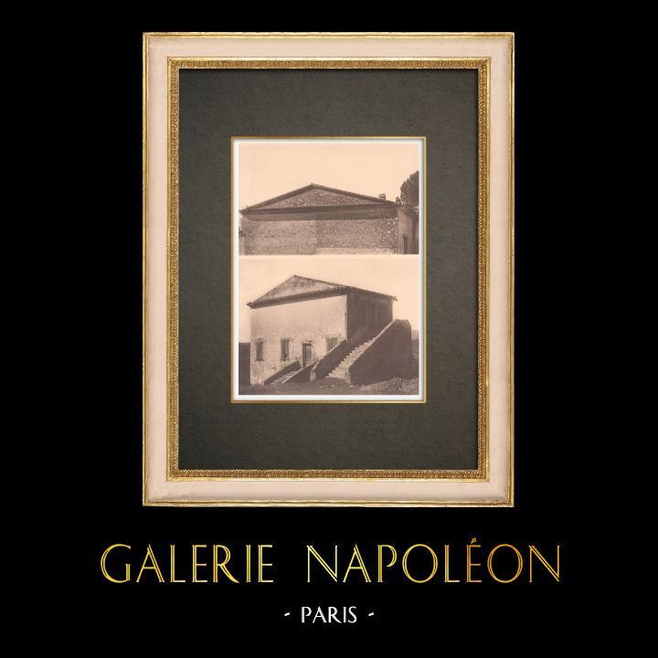 Gravures Anciennes & Dessins | Maison provençale - Génoise (France) | Phototypie | 1928