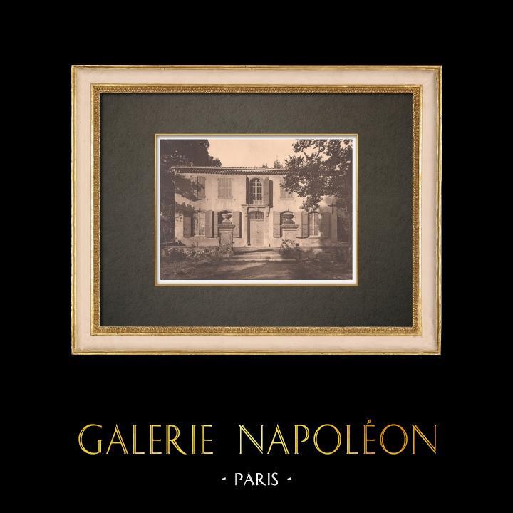 Antique Prints & Drawings | Petit château de Loubassane - Aix-en-Provence - Provence (France) | Phototypie | 1928