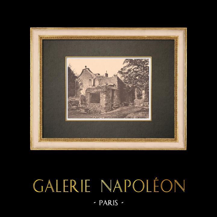 Antique Prints & Drawings | Peasant house near Aix-en-Provence (France) | Phototypie | 1928