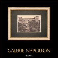Valbonnette castle - Lambesc - Provence (France) | Original phototypie. Anonymous. 1928