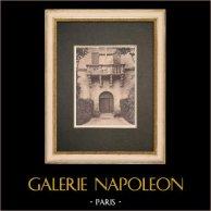 Valbonnette castle - Lambesc - Provence (France)