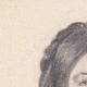 DETAILS 01 | Portrait of Léopoldine Hugo, daughter of Victor Hugo (Ketty Muller)